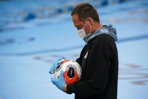 football coronavirus
